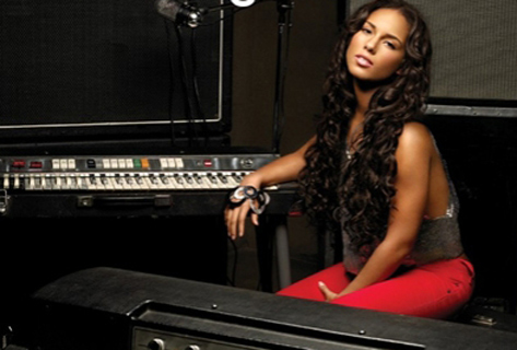 Alicia Keys Piano photo