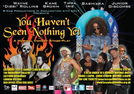 Catch Bashiyra In You Havent Seen Nothing Yet This Weekend
